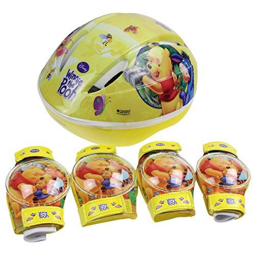 Mondo Motors – outdoor-spel – helm + beschermers – Winin Puuh