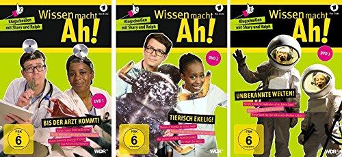 Wissen macht Ah! - DVD 1+2+3 im Set - Deutsche Originalware [3 DVDs]