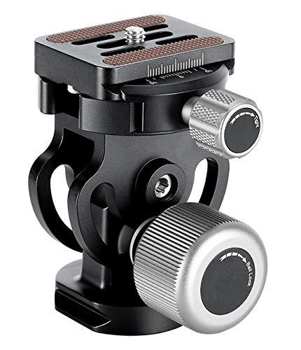 LEOFOTO VH-10S Einbeinstativ, Zwei-Wege-Neigekopf, Arca/RRS kompatibel, mit großem Komfort-Knopf