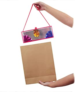 OUERMAMA Magic Paper Bag Appearing Flower Boxes Magic Tricks Stage Props Gimmick Magic Props