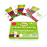 Gotrovo Treasure Hunt Languages Clue Cards Expansion Pack For Use Original or Travel/Mini - 70 Picture and Word Clues in Spanish, French, German, Italian and English