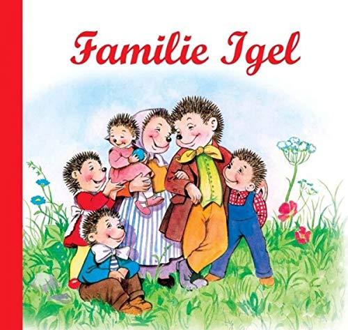 Nostalgische Kinderbücher: Familie Igel