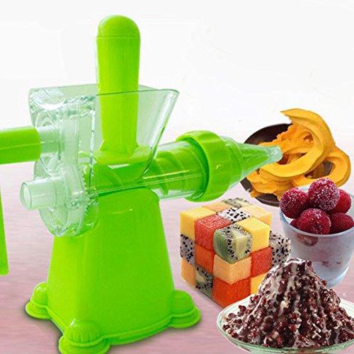 JKYQ Traditionelle Entsafter Gesunde Entsafter Obst und Gemüse Hand-Manuelle Weizengras Entsafter Küche oder Esszimmer Hand Crank Reamer Kinder Saftmaschine