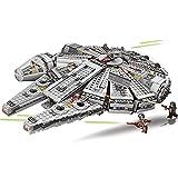 Technic Star Wars Millennium Falcon Starship Set de construcción, 1381 piezas MOC Clamp Building Blocks Set compatible con Lego Technic A