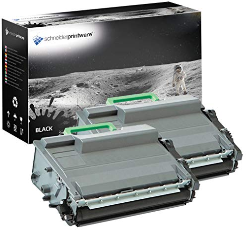 2 Hochleistungs Toner | 50% höhere Druckleistung | kompatibel zu Brother TN-3480 / TN3480 für Brother DCP-L5500DN L6600DW HL L5000D L5100 DN MFC-L5700DN MFC L6900DW HL L5200DW L6250DN L6300DW L6800