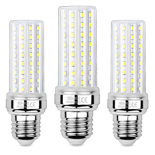 Hzsanue Bombillas LED 20W, 150W Equivalentes de Bombillas Incandescentes, 2000Lm, 6000K Blanco Frío, E27 Tornillo Edison, Paquete de 3