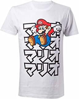 Shirtzshop - Maglietta a maniche corte, motivo: Super Mario Japanese,