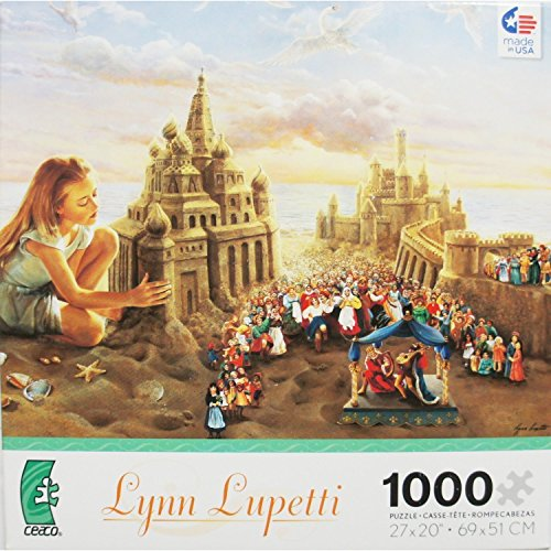 The Innocent Architect by Lynn Lupetti 1000 Piece Jigsaw Puzzle Made in USA Puzzle