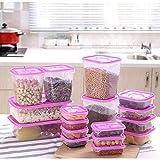 Taoke Caja de almacenamiento de alimentos de plástico grueso de gama alta Contenedor de ahorro portátil Color aleatorio 1pcs12.5x12.5x15.5cm 8bayfa (Color: 1pcs 8.5x8.5x3.5cm, Tamaño: Color aleatorio)