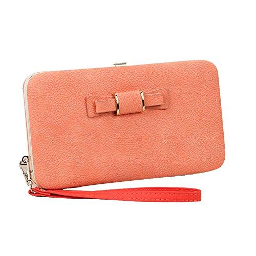Ulisc Women Wallets Designer Wallets Brand Women's Purse Long Design Bow Female Purses Messenger Bags