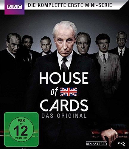 House of Cards - Die komplette erste Mini-Serie [Blu-ray] [Alemania]
