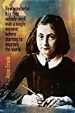 WOAIC Anne Frank Quote How Wonderful Poster for Bar Cafe