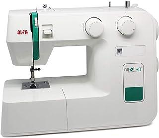 Alfa Maquina De Coser Next, Verde, 30 X 19 X 37 Cm