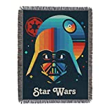 Star Wars Woven Tapestry Throw Blanket, 48 x 60 Inches, Moonrise
