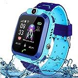 Jaybest Reloj Inteligente para Niños, Smartwatch Telefono Impermeable con SOS, LBS, Comunicación Bidireccional Cámara Chat de...