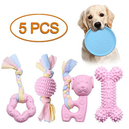 Juguetes resistentes para perros y cachorros, juguetes para