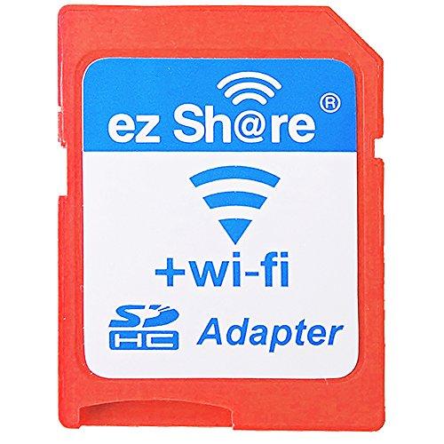 EZ compartir Wifi tarjeta SD adaptador 1,5MB/s de alta velocidad MicroSDHC Lector de tarjetas inalámbrico Wifi Apoyo Max 32GB Micro SD tarjeta