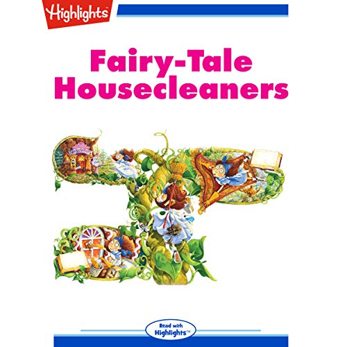 Fairy-Tale Housecleaners audiobook cover art