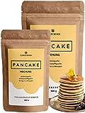 CLOUD SEVEN Protein Pancake Mix - Lower Carb Backmischung mit Vanille Geschmack und Whey Protein -...
