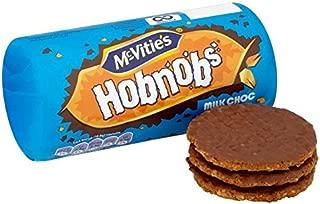 McVitie's Milk Chocolate Hobnobs 262g - Pack of 2