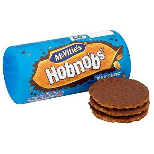 McVitie's Milk Chocolate Hobnobs 262g, 2 Pack