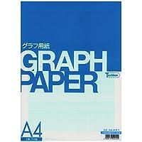 SAKAEテクニカルペーパー 片対数グラフ用紙 上質紙 A4 50枚 アイ色 A4-4片1