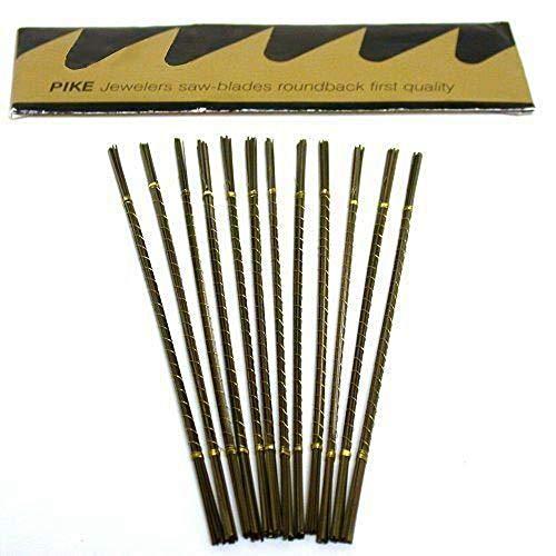 Pike Jeweler's Saw Blades #3/0 144 Pack