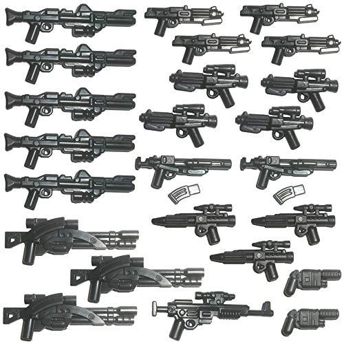 24x Custom Blaster Waffen für Lego Star Wars Figuren