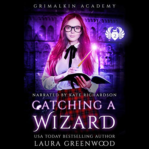 Catching a Wizard audiobook cover art