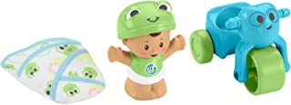 Fisher-Price Little People Bundle 'n Play figure and gear set, busy babies GNF59