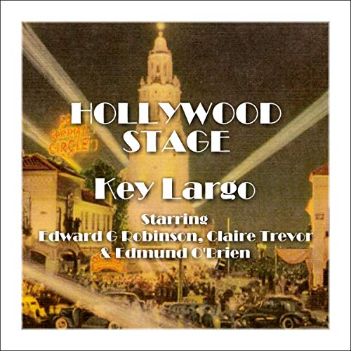 Hollywood Stage - Key Largo audiobook cover art