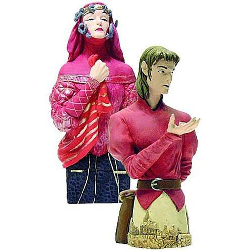 Stardust Tristran en heks mini buste set