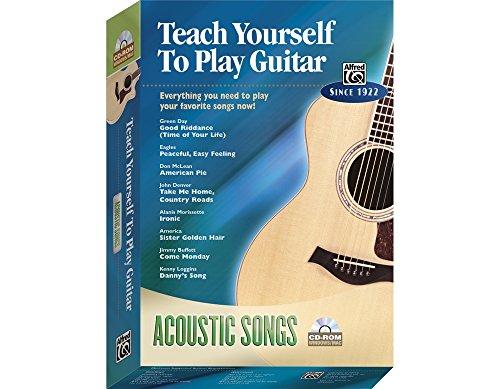 Alfred 00-27818 Aprendiendo a tocar canciones de guitarra ac-stica - Music Book