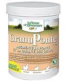 FERME DE BEAUMONT GranuPonte 1 kg - favorise la ponte Oméga 3 et 6 granulés concentrés volailles