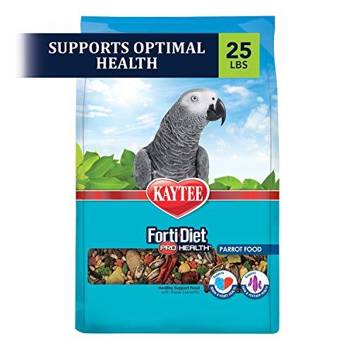 Kaytee Forti-Diet Pro Health Feather Health Parrot Food 25lb