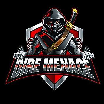 Dire Menace (feat. Rakeef Da Voice)