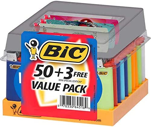 Bic Classic Maxi Lighters - Tray of Plus Today's only Special 50 Overseas parallel import regular item Lig Free 3