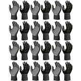12 Pack - Showa Atlas 370BLK Nitrile Tough Gloves - Medium