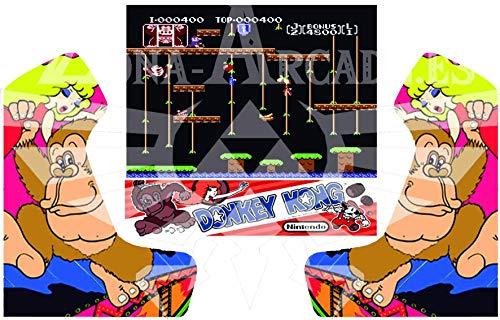 Zona Arcade Vinilo para recreativa bartop (Donkey Kong JR)