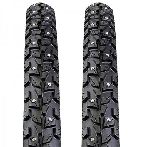 2x Kenda Cyclocross Spike Reifen Klondike Skinny K-1014 37-622 28x1.4 Draht