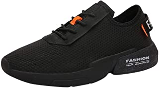 Men's Sneakers NEEKEY Fashion Lightweight Casual Walking Shoes Gym Breathable Comfortable Mesh Sports Shoes