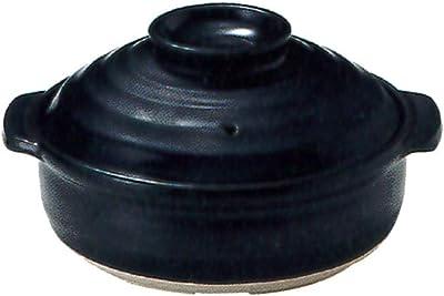 CtoC JAPAN Select 土鍋 ブラック 7号 IH土鍋 22cm 1.5L IH 直火 オーブン 対応 46-08937/2-980469 萬古焼