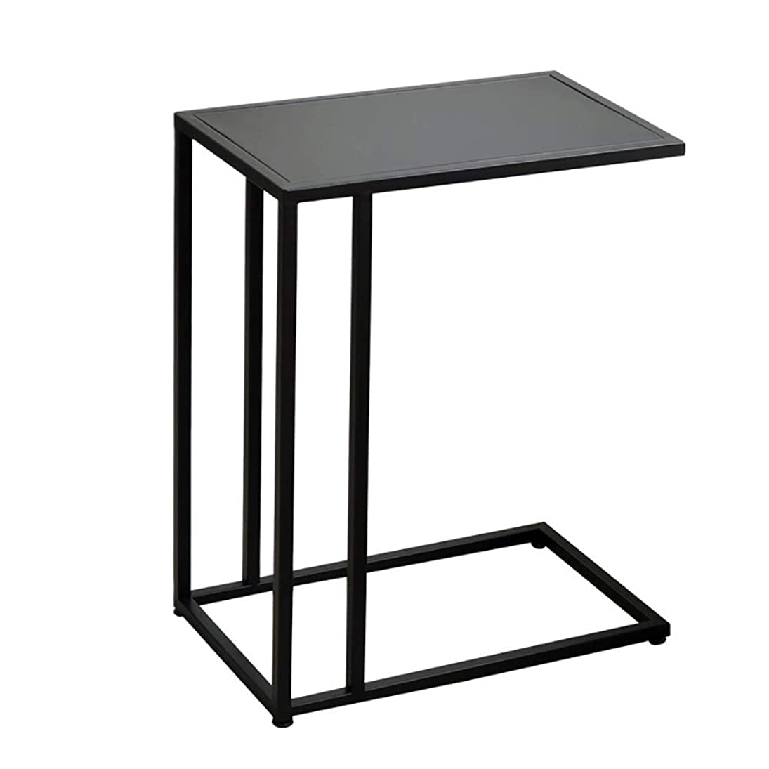 退化する結核管理するJTWJ 北欧の錬鉄製のミニコーヒーテーブル黒の創造的なリビングルームのソファのサイドキャビネットのベッドサイドテーブルコーナーテーブル