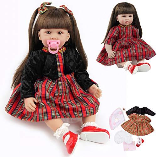 ZIYIUI Reborn Dolls Toddler 24 inch 60cm Lifelike Baby Dolls Toddler Girls...