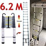 Escalera telescópica plegable potable Loft Extensión...