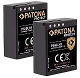 (2X) PATONA V1 Protect BLH-1 PS-BLH-1 Akku (2040mAh) mit NTC-Sensor und V1 Gehäuse - Intelligentes...
