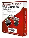 Jaguar S-Type CD radio stereo loom ISO Kabelbaum adapter Kabel Konverter