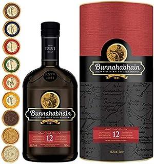 Bunnahabhain 12 Jahre Islay Single Malt Whisky  9 Edel Schokoladen in 9 Sorten