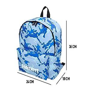 Fortnite – Mochila Camuflaje azul 31 x 43 cm (77080)