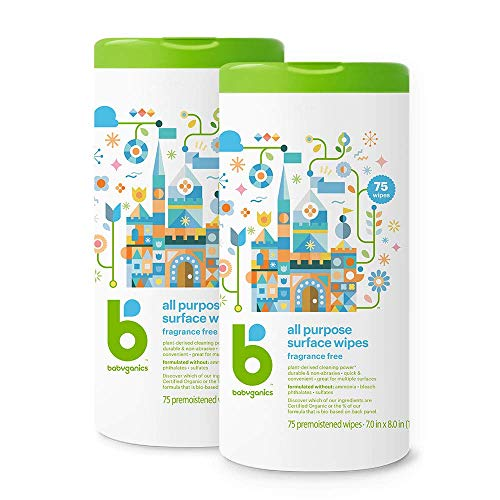 Babyganics All Purpose Wipes Available Online!